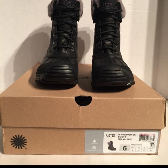 23b14bdacb4 Ugg Women's Adirondack II Waterproof Leather Boots